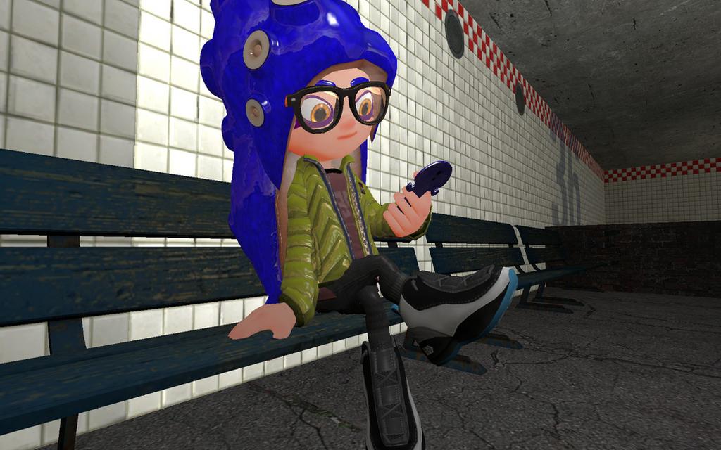 Subway Sitter by DarkMario2