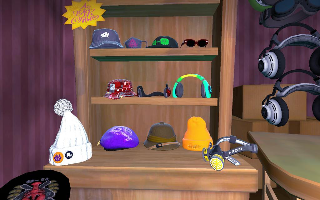 Hat Display by DarkMario2