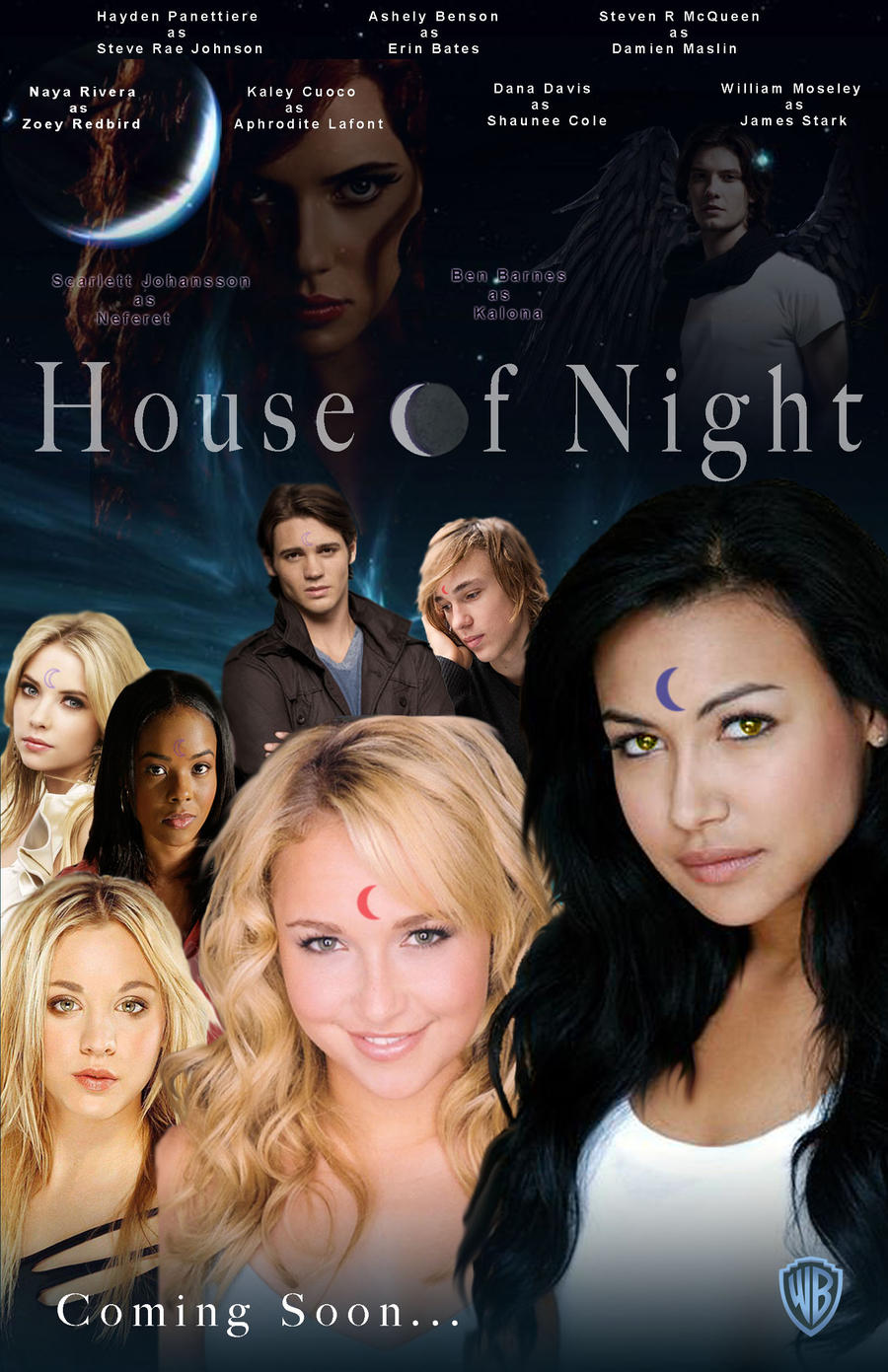 House of night movie poster by aestheticsaturn on deviantart for Housse of night
