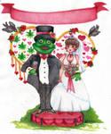 La boda del Sapo
