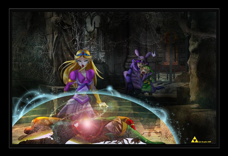 LOZ - Hyrule Rising Concept Art by AiijuinGraphics