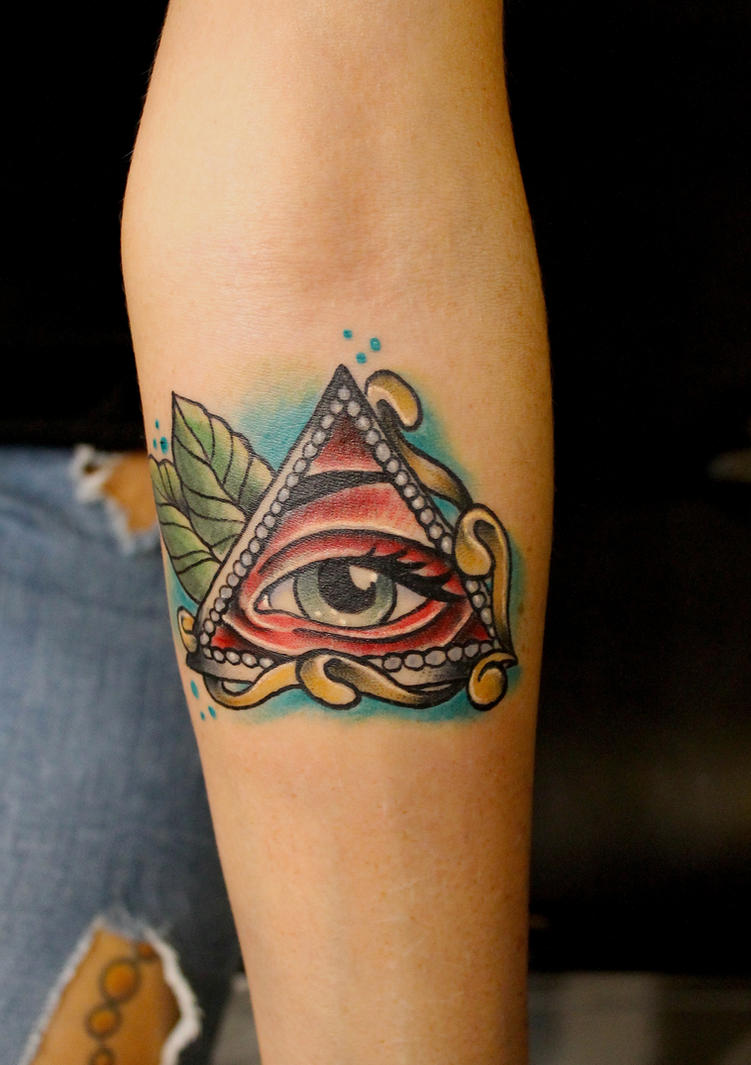 Illuminati Eye Tattoo Meaning All Seeing Eye Tattoo