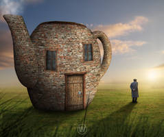 Teapot House by Wiyarsena