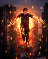 The Flame Boy by Wiyarsena