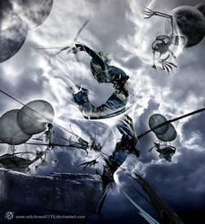 dark.blue.jump by ArtzIGOR