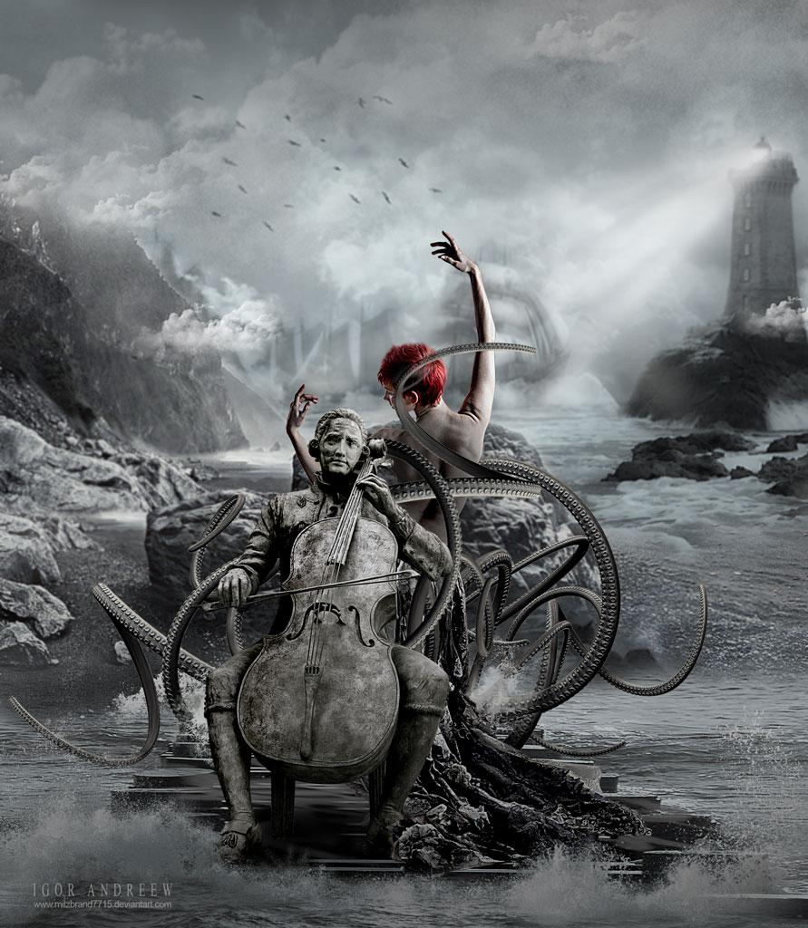 project_001 (dancing octopus) by ArtzIGOR