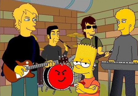 Bon Jovi Simpson by lizzsambora