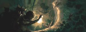 Deeper and deeper down the rabbit hole by ericinprogress