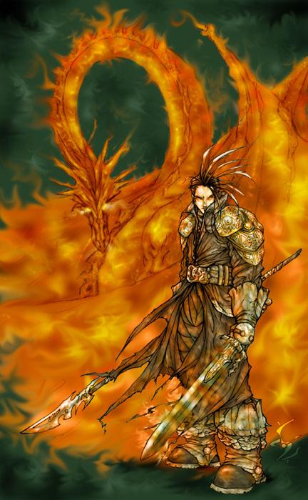 Fire Knight by ericinprogress