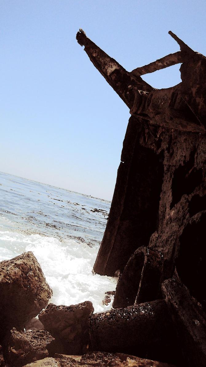 Shipwreck by ericinprogress
