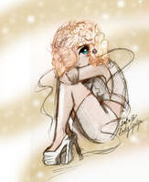 lady gaga 4 bad romance by LoLoxD
