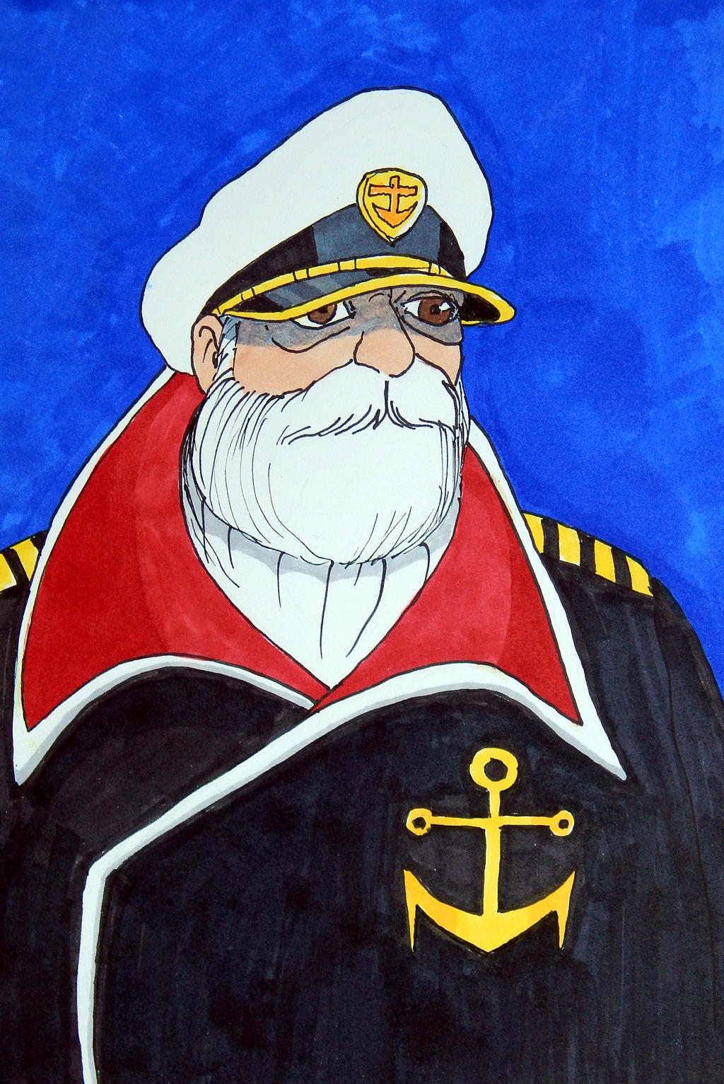 Captain Okita by FirstPrimeOfCessna