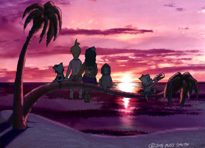 Milo S Life   Tropical Sunset By Sorenutz007