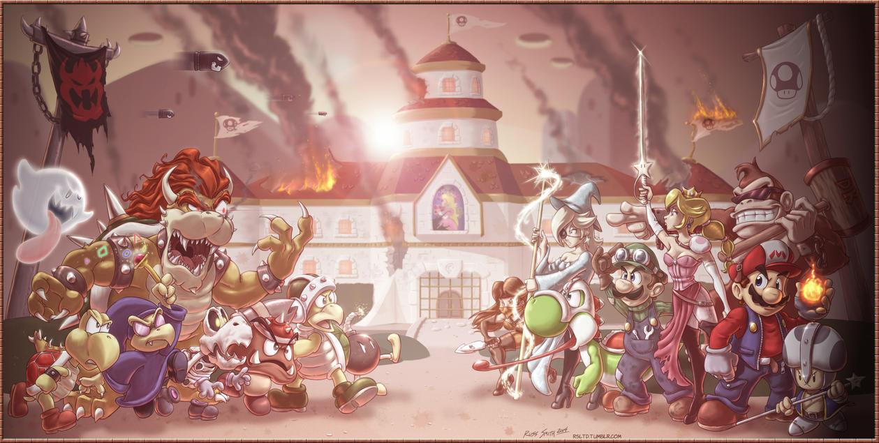 Mushroom Warriors by sorenutz007