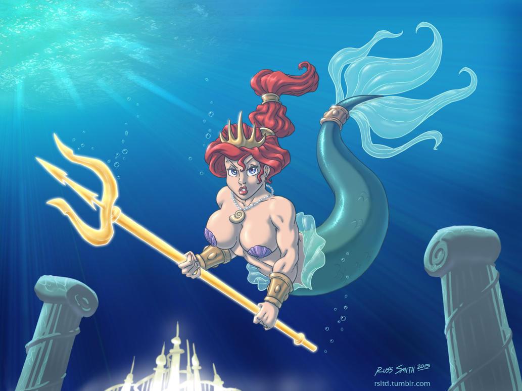 Queen of Atlantica by sorenutz007