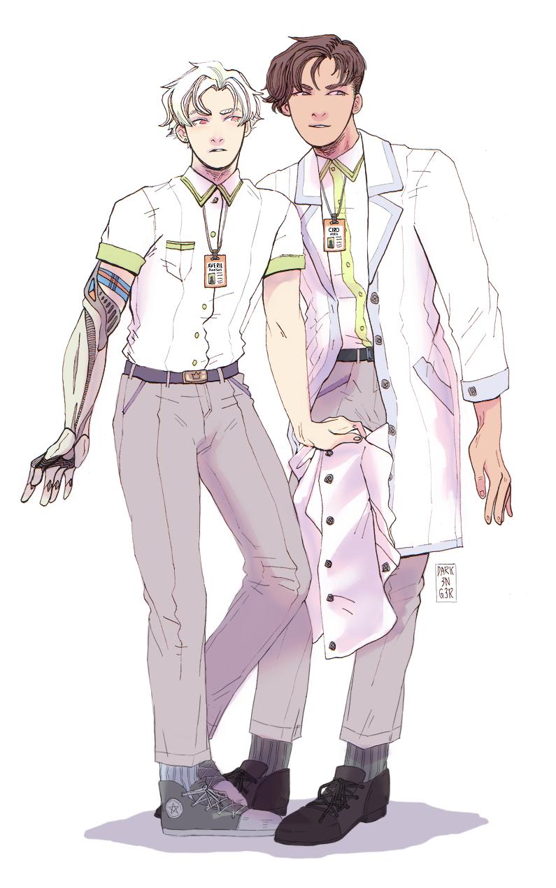 Averil and Ciro by juunc0