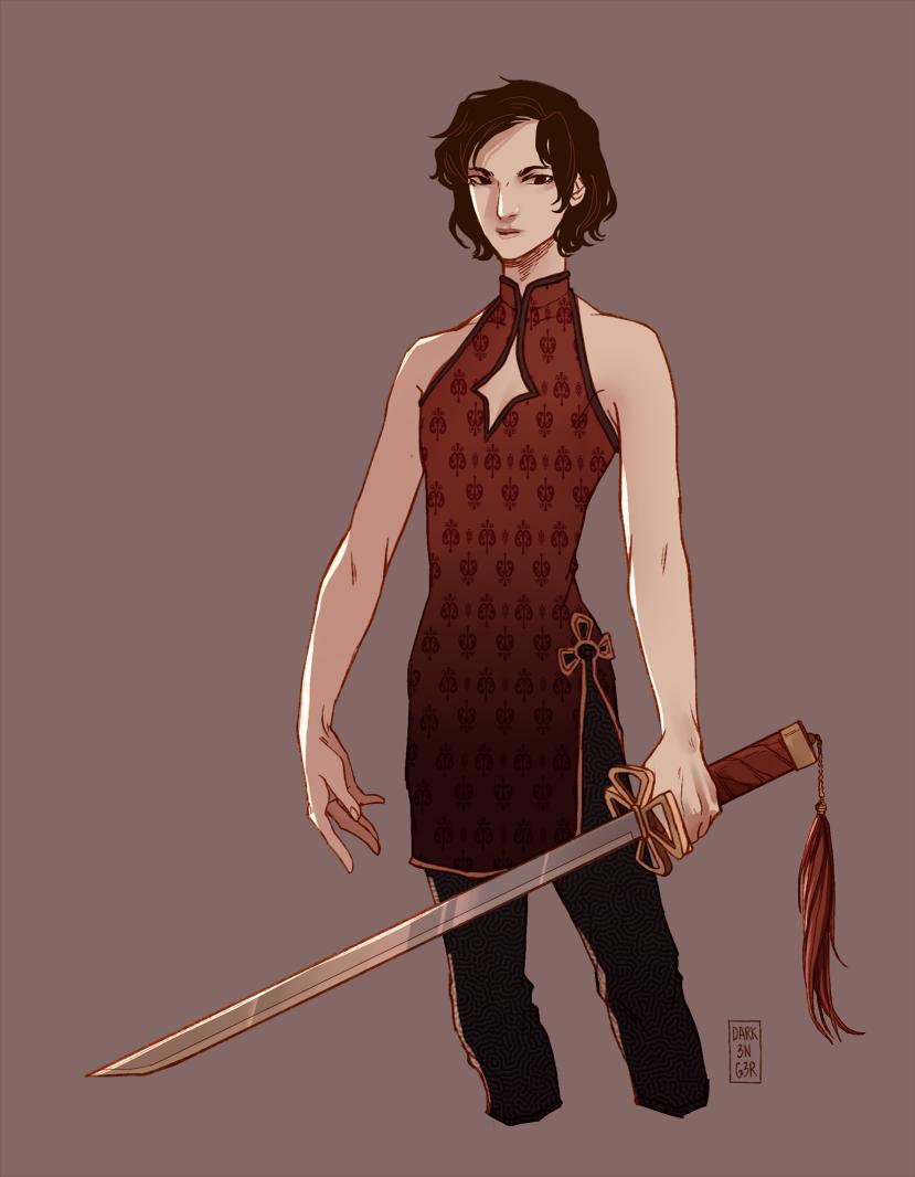 sword master uniform by juunc0