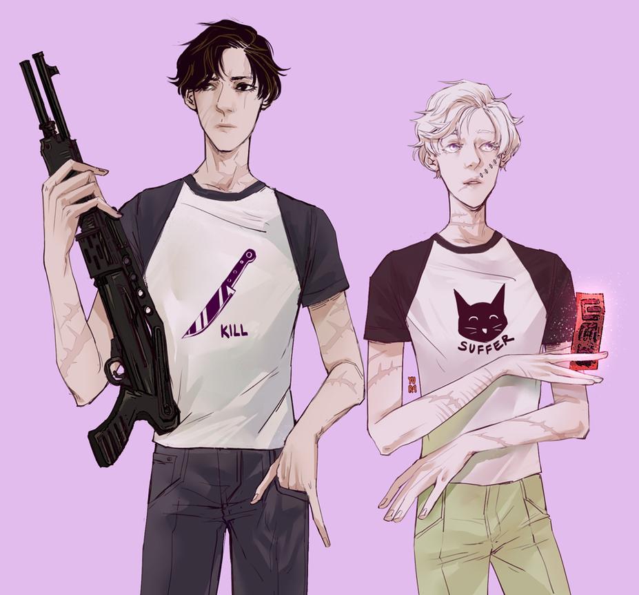 matching shirts by juunc0