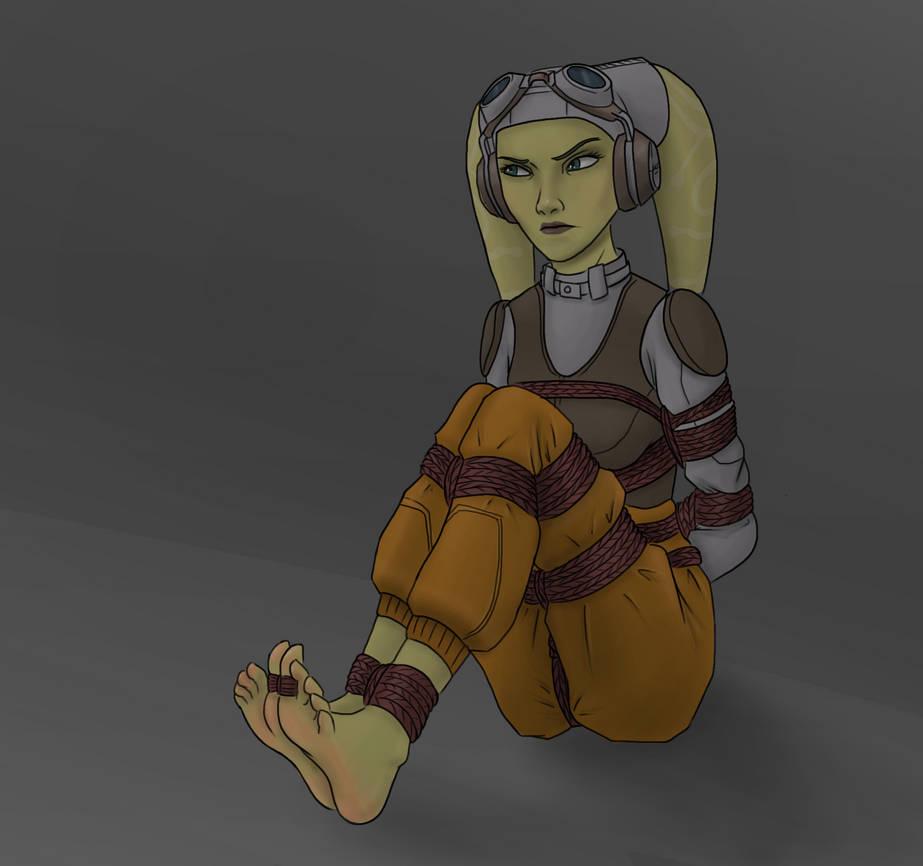 Hera tied up by Lapot4421 on DeviantArt