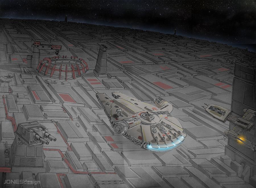 Death Star 2 Run by J0N3Sdesign
