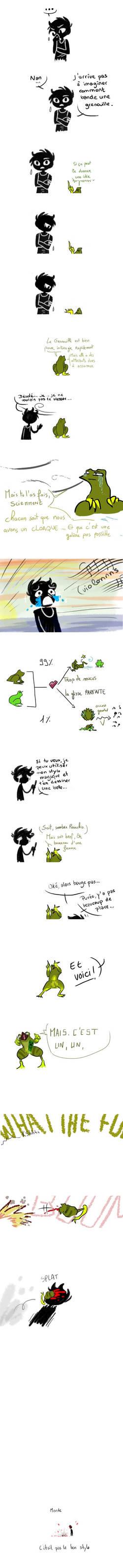De l'existence du zizi des Grinnouilles