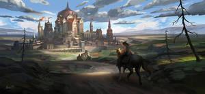 Castle by zukang