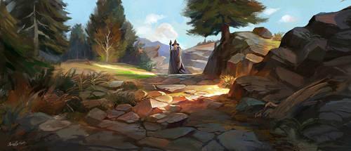 Gandalf forever by zukang