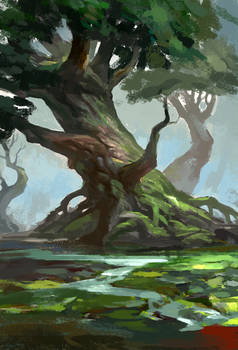 tree  speedpainting2~!