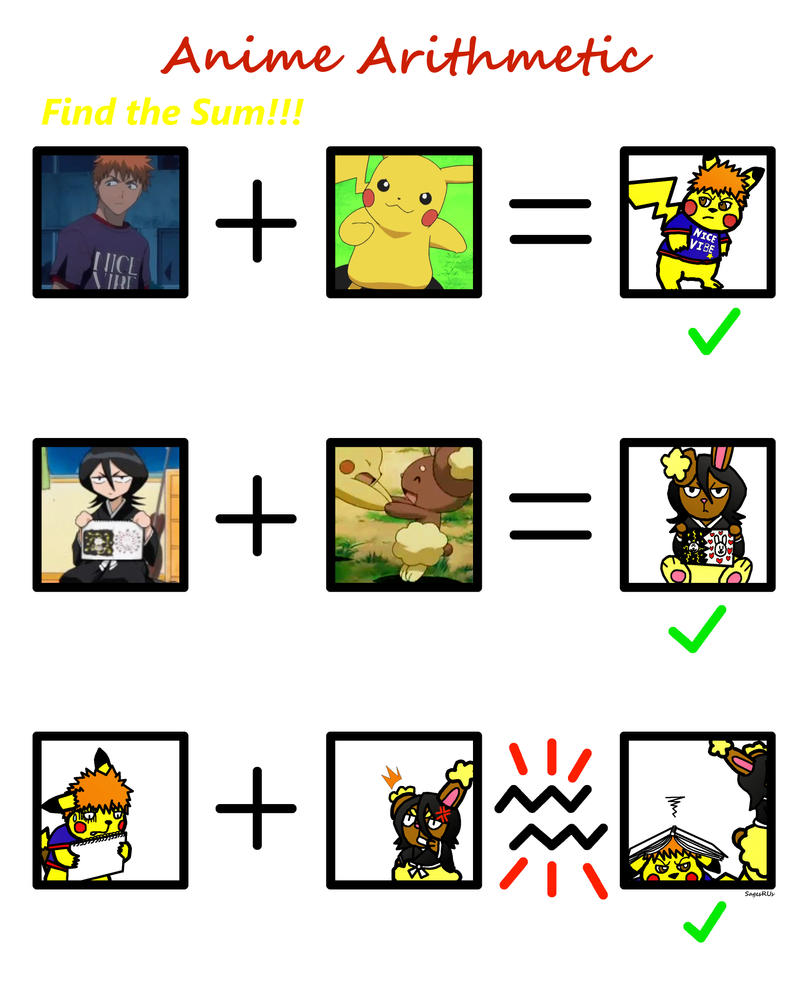 Bleached Pokemon Anime Arithmetic By Sagesrus On Deviantart