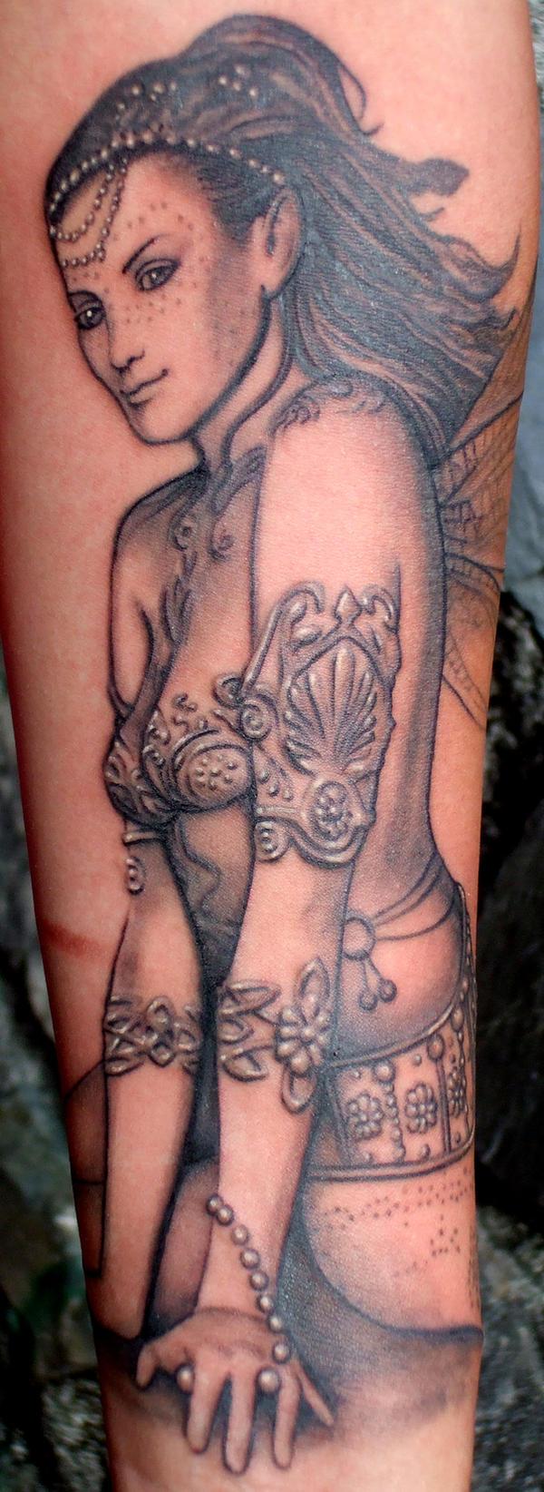 fairy tattoo by thothflashpan