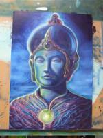 buddha by thothflashpan