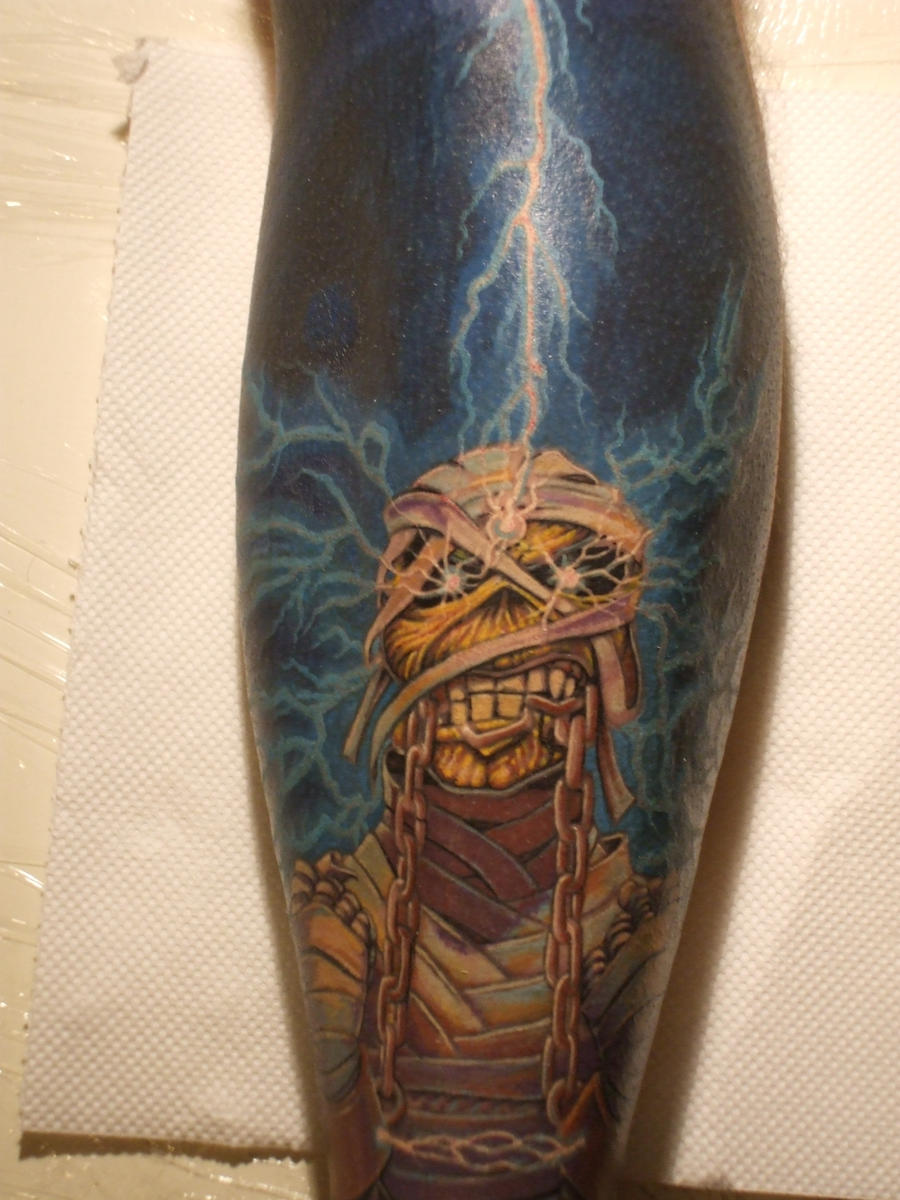 iron maiden eddie by thothflashpan Yes this is a picture of a pile of dog hair (on a chair for size ...