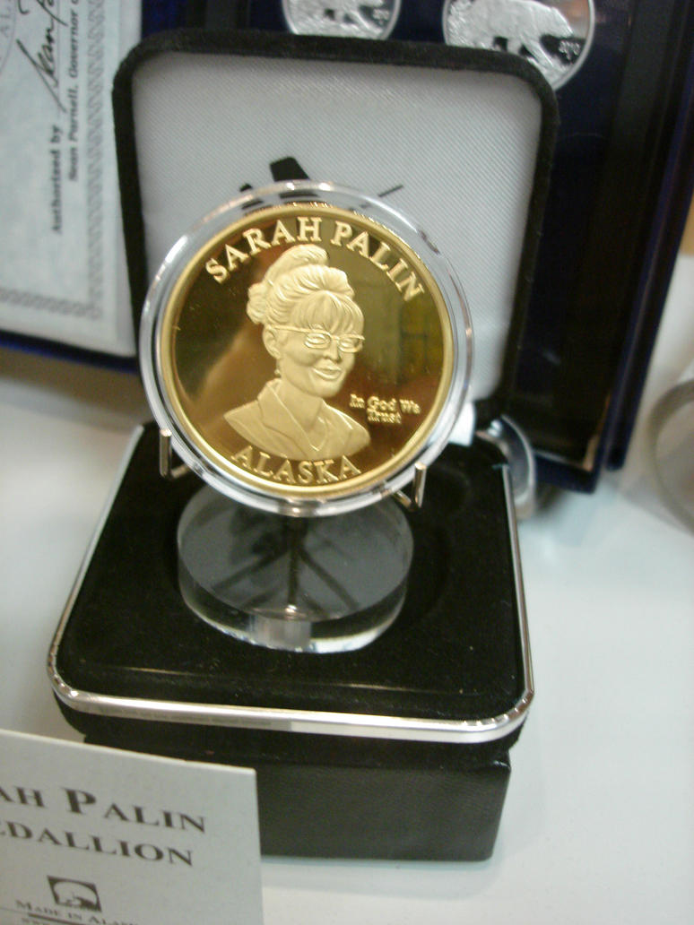 Sarah..Palin..Coin.. by Fox-Rachel