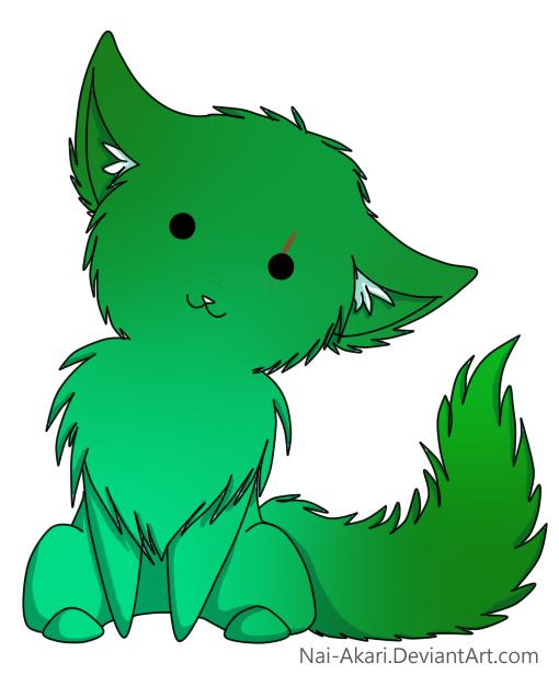 Freshly adopted kitty by Fox-Rachel