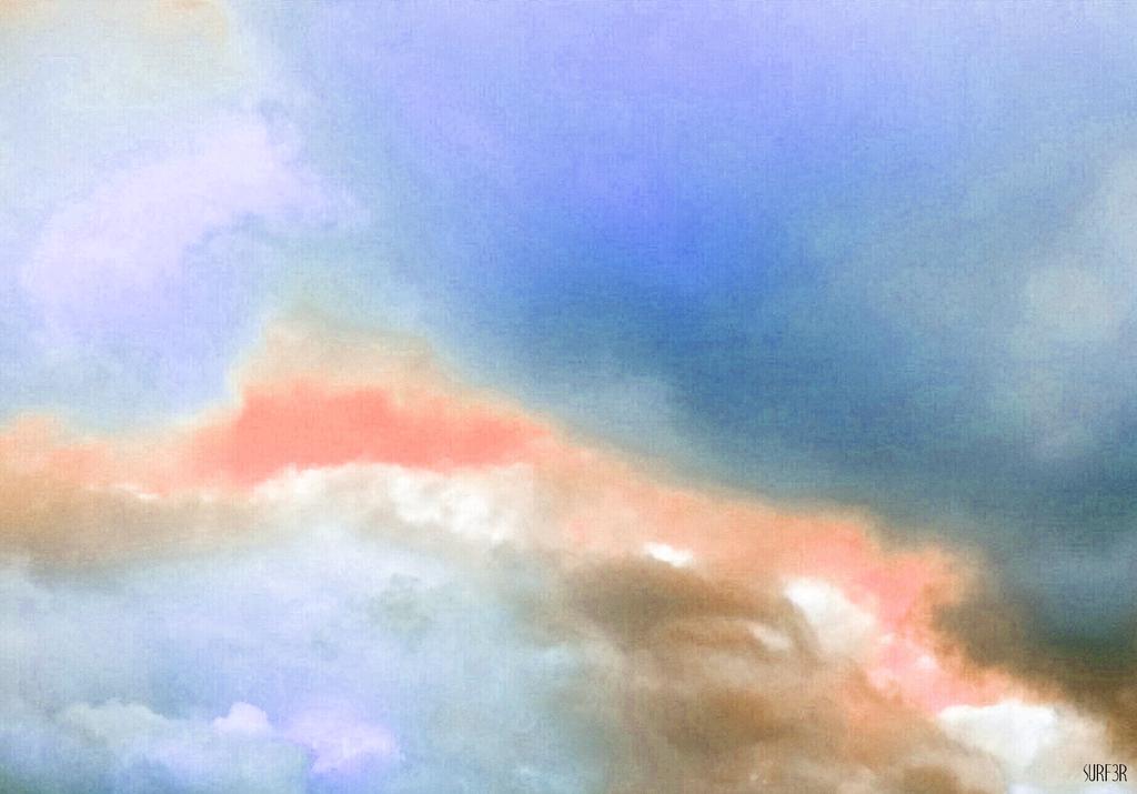 Pastel Clouds by GrahamSurferAndrews