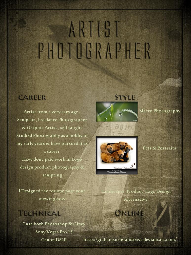 Resume Test 1 by GrahamSurferAndrews