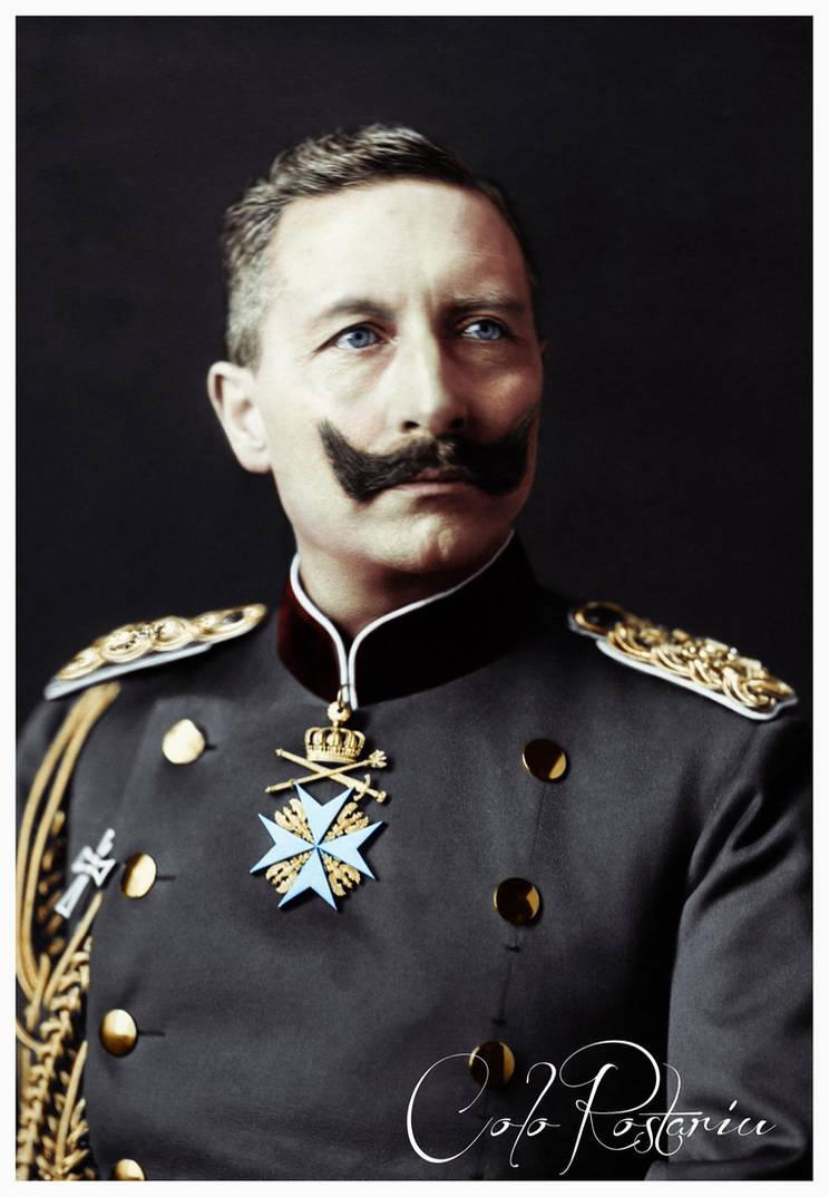 Wilhelm II, German Emperor by rostariu