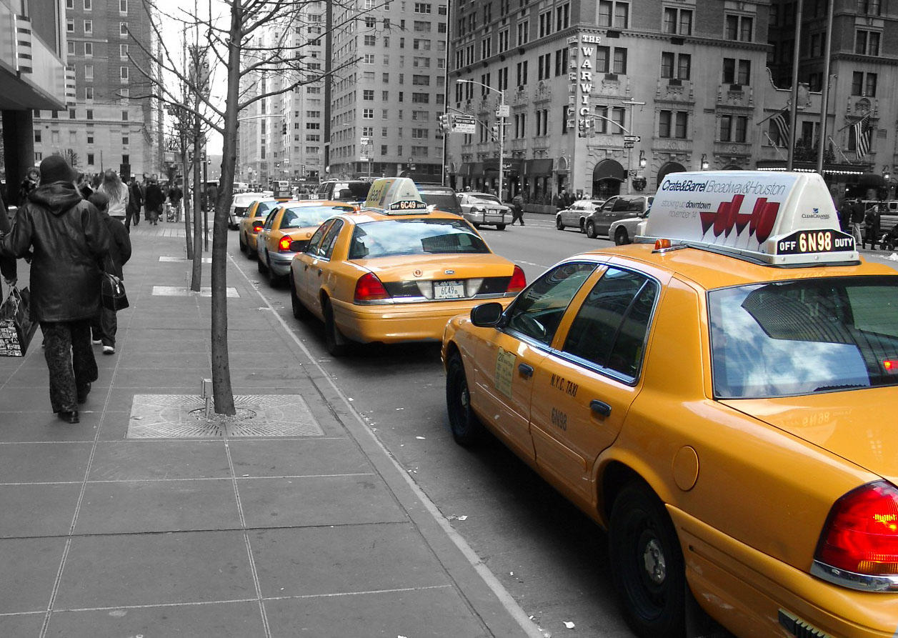 NYC Taxi by SoberMonkey on DeviantArt