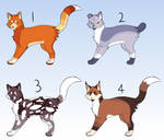 $3 / 300 Point Cat Adoptables [OPEN]
