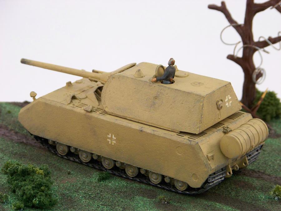 1 72 scale kampfpanzer viii maus 2nd view by nixod321 on deviantart. Black Bedroom Furniture Sets. Home Design Ideas