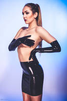 nude skin, black latex by rager-ac
