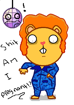 Disco Bear Happy Tree Friends