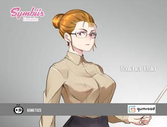 Symbiis Fantasies:Teacher Eula pin ups on Gumroad by Kometoze