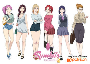 Symbiis Fantasies full cast by Kometoze