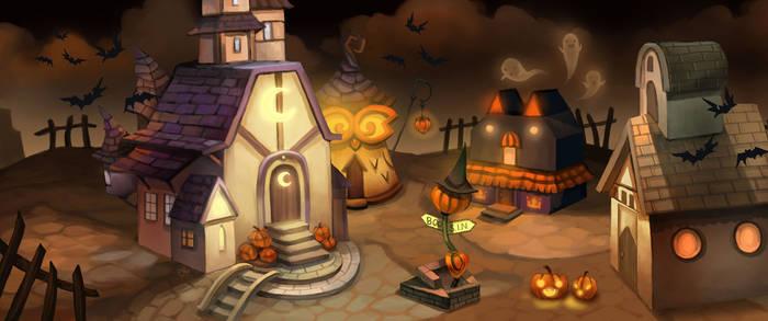 Gaia Halloween Town
