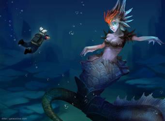 Poseidon's Legacy - Coinchenn by ethe