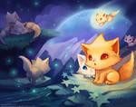 Kitten Star land