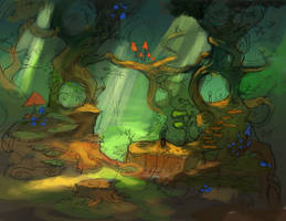 Forest rough concept by ethe