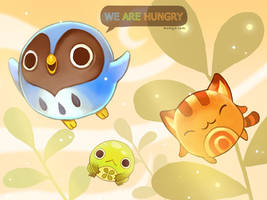 We Are Hungry - title sceen