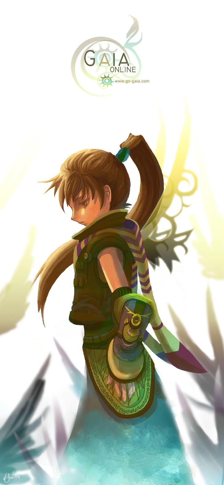 Gaia Character: Hakumei by ethe